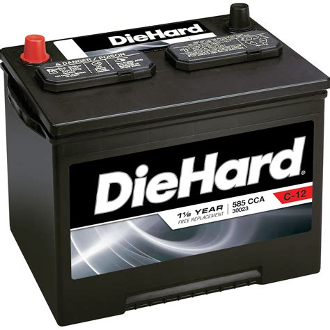 DieHard Automotive Battery  Group Size 24F (Price with