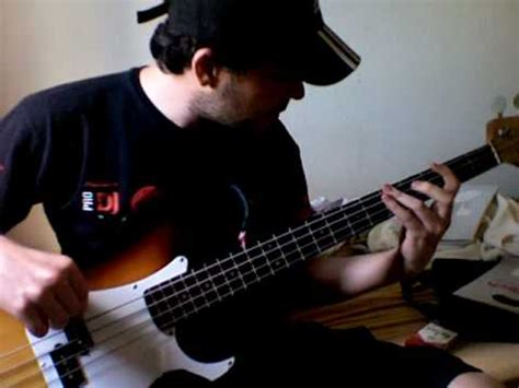 daft punk bass one more time daft punk bass cover youtube