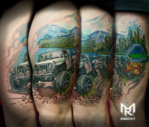outdoor tattoos custom jeep and outdoor inspired my