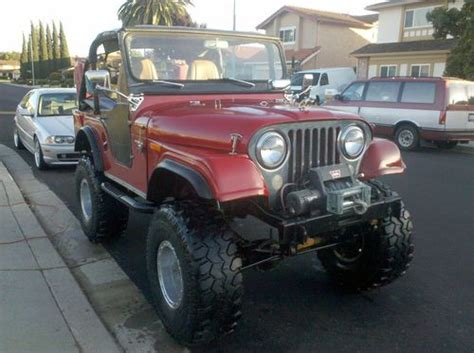 custom kaiser jeep purchase used 1965 jeep cj5 kaiser willys with hard top in