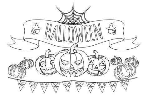 imagenes halloween pdf dibujos de halloween para colorear im 225 genes halloween