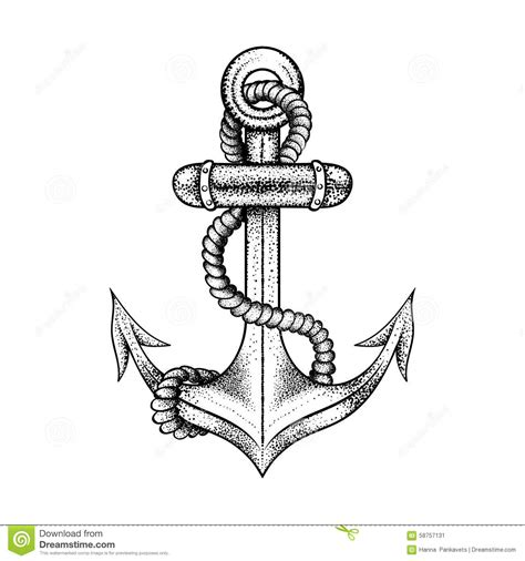 boat anchor tattoo designs 25 anchor rope tattoos designs
