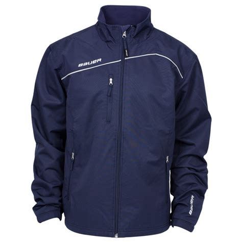 light and warm jacket bauer lightweight youth warm up jacket