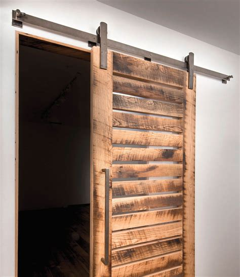 hang interior door hang an interior barn door track system door