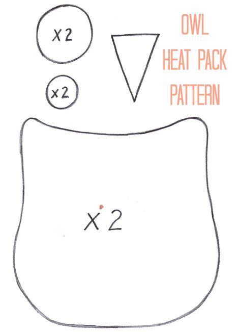 Handmade Days - owl heat pack pattern thirty handmade days