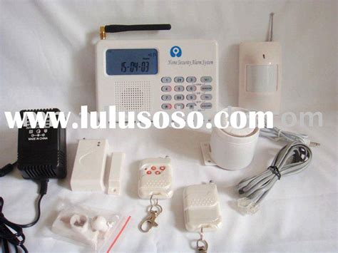 pstn and gsm adt contact id home alarm system for sale