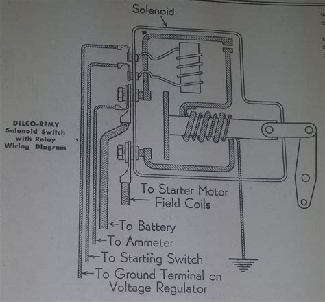 delco remy starter 39mt wiring diagram choice image