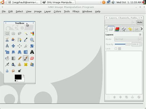 gimp web design layout gimp 2 6 released one step closer to taking on photoshop