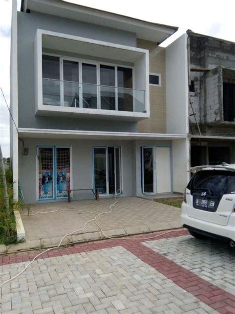 Rumah Dijual Cluster Mewah rumah dijual rumah mewah 2 lantai dalam cluster fasilitas