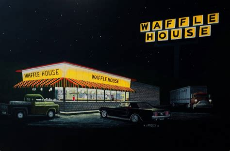 waffle house real estate history of a painting waffle house r down south eve