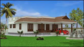 One Story House Designs Home Design Kerala House Plans Sq Ft With Photos Khp 1