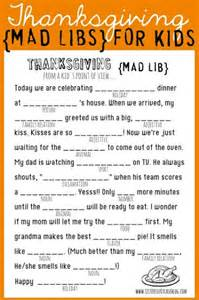 Free thanksgiving printable amp cute ideas for your kids table