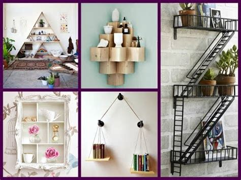 creative wall shelves ideas diy home decor youtube diy creative wall shelves design 21 room decor ideas