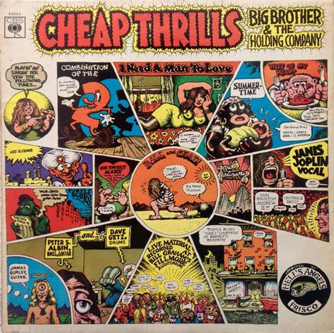 big brother  holding company cheap thrills vinyl lp album stereo discogs