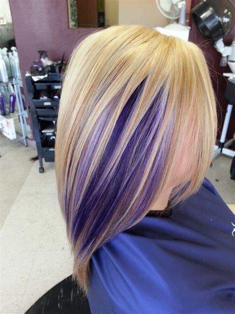 purple and blonde hairstyles 17 stylish hair color designs purple hair ideas to try