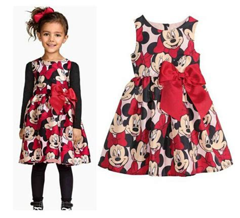 Pineapple Minnie Dress Size 2 7y 2 7y new 2015 summer dress minnie mouse dress for