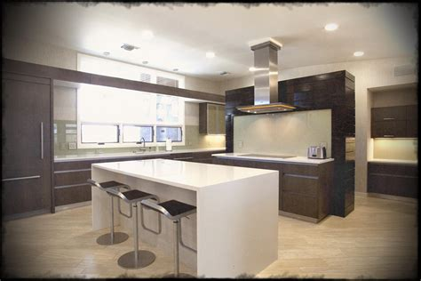 cool modern small apartment open kitchen designs with