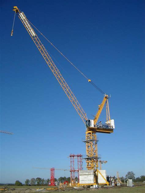 tower crane mast section china 12t jib crane luffing tower crane splited mast