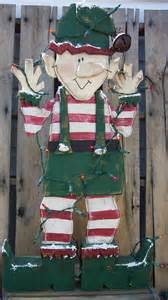 items similar to santa s christmas elf wood craft pattern