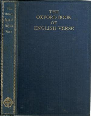 oxford book of english verse quiller couch oxford book of english verse by arthur quiller couch