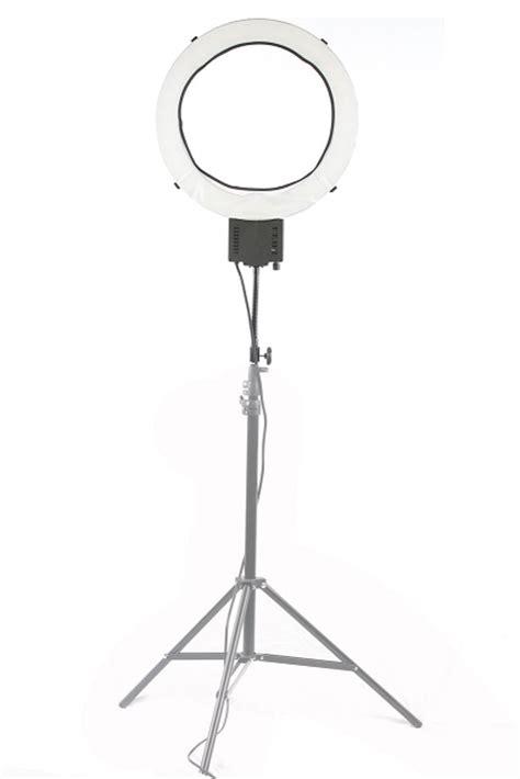 mounting the ring light lightstand gooseneck