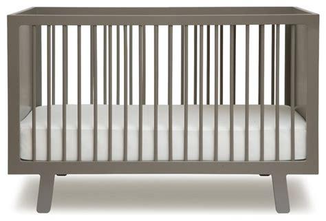 Modern Grey Crib by Oeuf Sparrow Crib Grey Modern Cribs By