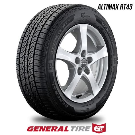 general altimax rt43 tirebuyer general altimax rt43 205 70r15 96tbw 205 70 15 2057015 75k warranty products