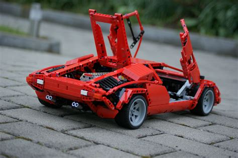 Lego Lamborghini Countach by Lamborghini Countach Lego Technic Wonders