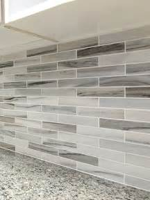 modern white gray marble kitchen backsplash tile from carrara subway home design ideas