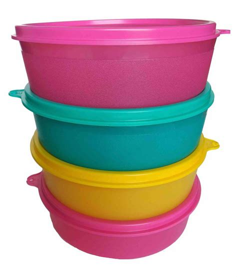 Small Handy Tupperware 1 tupperware handy bowl set of 4 buy at best price in india snapdeal