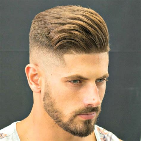 short side swept hairstyles fade haircut 23 barbershop haircuts 2018 men s haircuts hairstyles 2018