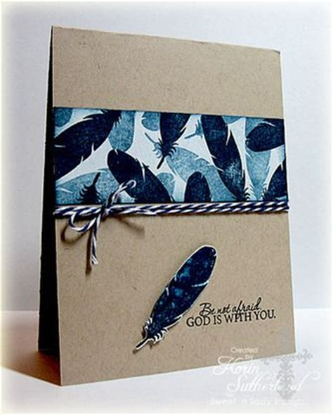 Handmade Birds Bandc - nature silhouettes 2 clear st set masculine cards