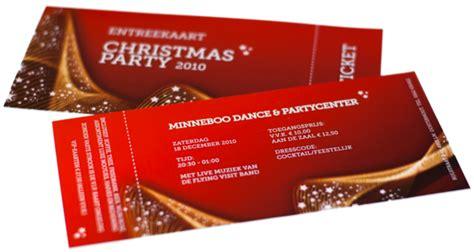 xmas party ticket