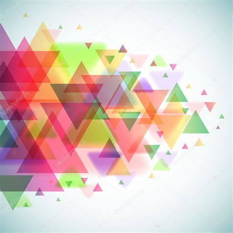 colorful wallpaper triangles abstract colorful triangles vector background stock