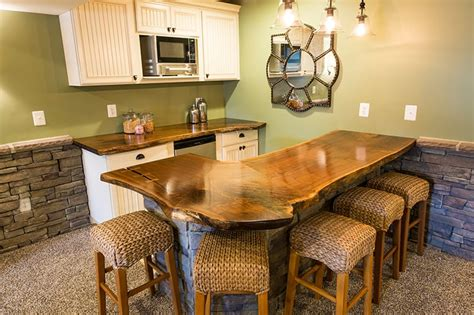 live edge bar top walnut live edge bar top maryland wood countertops