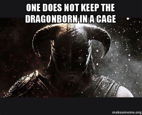 Dragonborn Meme - skyrim horse meme memes