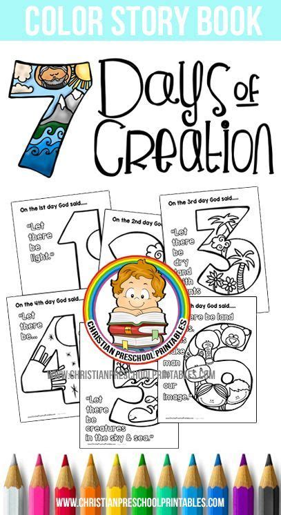 themes in the creation story free days of creation bible coloring pages http