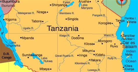 5 themes of geography tanzania tanzania atlas maps and online resources infoplease com