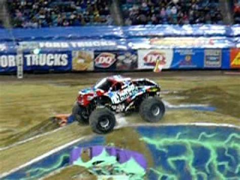 nitro circus rc monster nitro circus monster truck backflip youtube