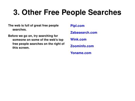 Previous Address Search Free Search Tips To Help You Find