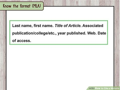 How To Reference Websites Within An Essay by How To Cite A Website With Sle Citations Wikihow