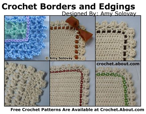 how to finish a knitted blanket baby blanket crochet edgings
