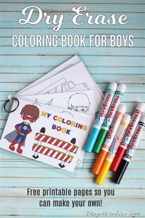 project whiteboard books erase coloring book for boys free printable the