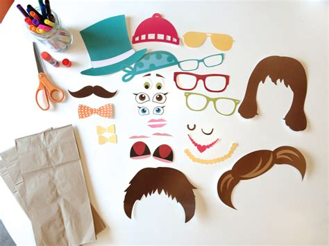 printable paper puppets free printable paper bag puppets paper bag puppets