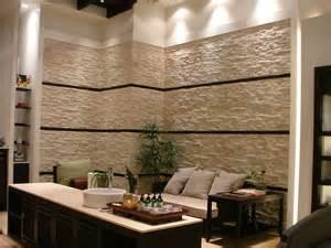 naturstein wandfliesen wohnzimmer wandverkleidung stein
