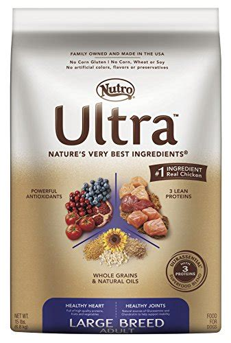 nutro ultra large breed puppy nutro ultra large breed food 30 lbs pet supplies