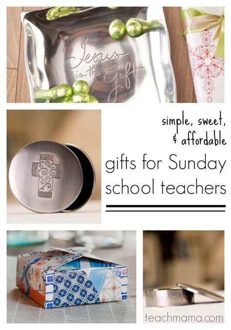 gifts for sunday school teachers or ccd teachers teach mama