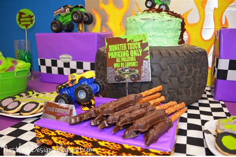 Truck Birthday Decorations by Nestling Truck Reveal