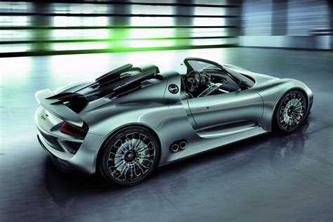Porsche 918 Spyder Hybrid Supercar U S Price Announced