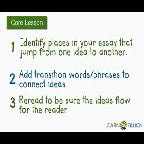 Transition Words For Argumentative Essays by Argumentative Essay Use Transition Words